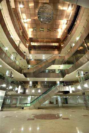 Inside Axis Mall - Full View