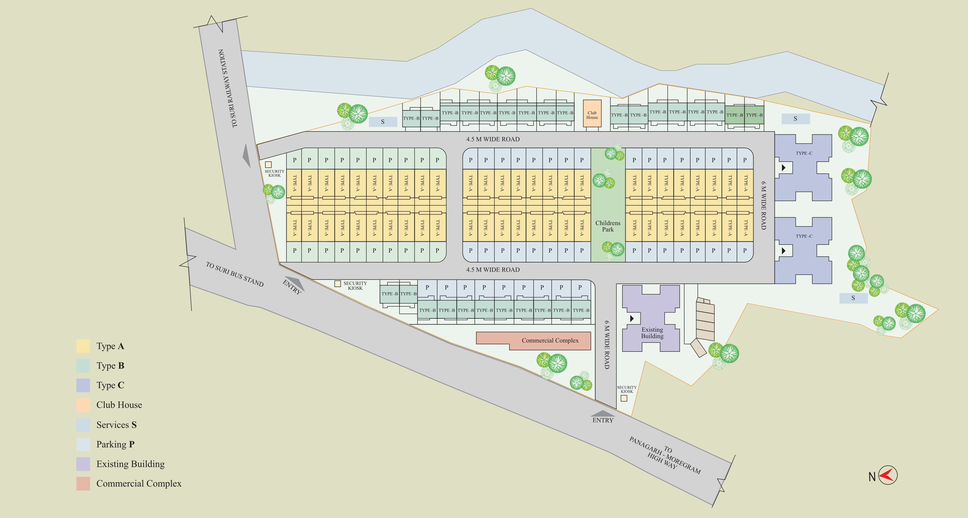 Bengal Peerless Housing Development Company Ltd  - Digangana
